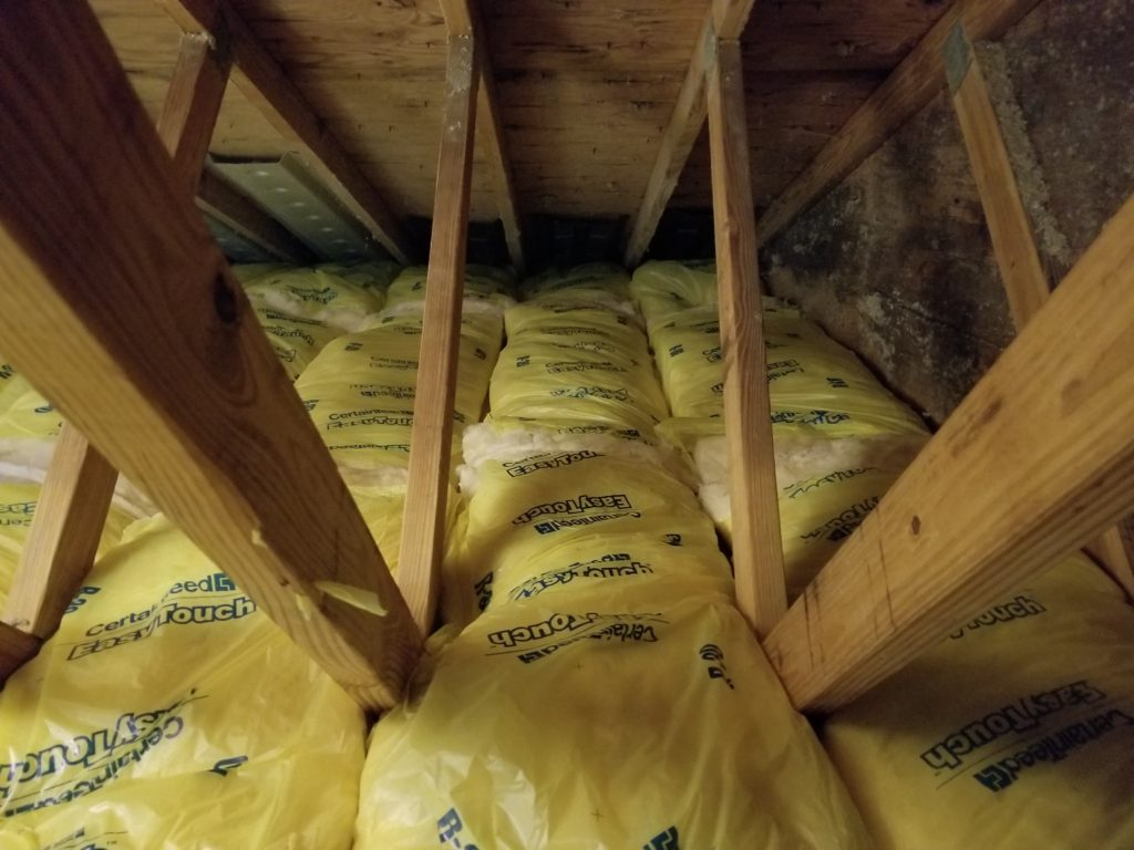 Brecksville Attic Insulation Encapsulated Fiberglass To